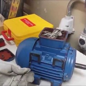 Conserto de motores de corrente contínua