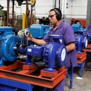 Manutenção de motores de corrente contínua
